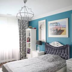 Aykuthall Architectural Interiors – SBA EVI SUNFLOWER:  tarz Yatak Odası