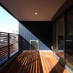 بلكونة أو شرفة تنفيذ 加門建築設計室