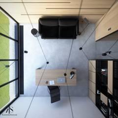 Biuro pod Krakowem: styl , w kategorii Przestrzenie biurowe i magazynowe zaprojektowany przez Kamińska Stańczak