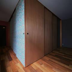 B house: HIPSQUAREが手掛けた壁です。,