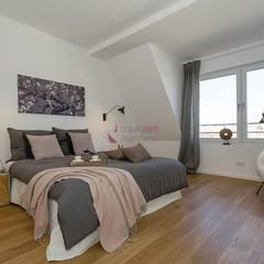 Home Staging desSchlafzimmers:  Schlafzimmer von staged homes