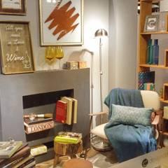Cantinho de Leitura : Centros de exposições  por Juliana Zanetti Arquitetura e Interiores