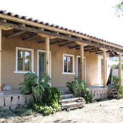 بلكونة أو شرفة تنفيذ ALIWEN arquitectura & construcción sustentable