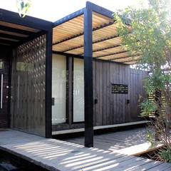 Construcción de Casa Ro en Matanzas por ALIWEN: Casas unifamiliares de estilo  por ALIWEN arquitectura & construcción sustentable - Santiago,