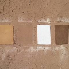 Textura de Paredes: Paredes de estilo  por ALIWEN arquitectura & construcción sustentable