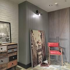 [HOME] Taoxi Interior Design: KD Panels의  침실,컨트리 우드 우드 그레인
