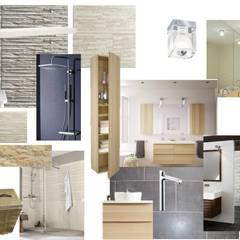 Planche de style: Salle de bains de style  par Mon Intérieur Sur Mesure (MISM)