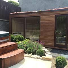Außensauna Coolemore:  Spa von corso sauna manufaktur gmbh