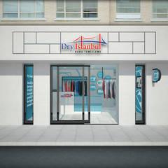 Baki & Başaran İç Mimarlık – Dry İstanbul Kuru Temizleme Mağazası // Konsept Tasarım + Projelendirme:  tarz Dükkânlar