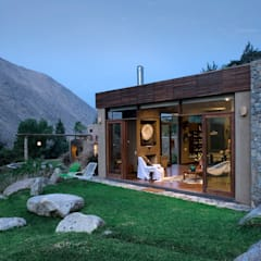 Casa Chontay: Casas de estilo  por Marina Vella Arquitectura, Moderno