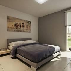 Desarrollo en Lino Limay, Neuquen Capital, Patagonia: Dormitorios de estilo  por Chazarreta-Tohus-Almendra