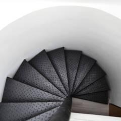 APARTAMENTO 64: Pasillos y vestíbulos de estilo  por santiago dussan architecture & Interior design, Ecléctico