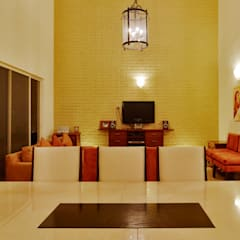 Dining room by Excelencia en Diseño, Colonial Bricks
