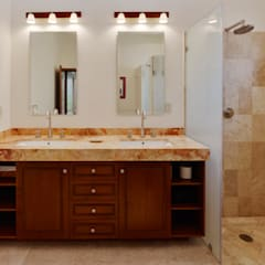 Bathroom by Excelencia en Diseño, Colonial گرینائٹ
