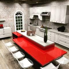 Kitchen by MV Arquitetura e Design
