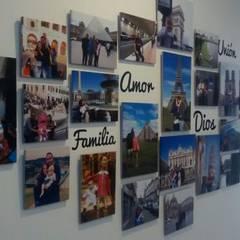 FotoGalerías Personalizadas: Pasillos y vestíbulos de estilo  por Cuarto de Luz: fotografía y decoración, Moderno