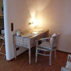 Feng Shui-Suite im Loccumer Hof, Hannover, Details: asiatische Arbeitszimmer von sam nok GmbH
