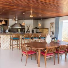 Chacara 1 Moderne Esszimmer von Érica Pandolfo - arquitetura / interiores Modern