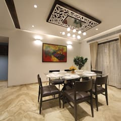 Samrath Paradise:  Dining room by IMAGE N SHAPE