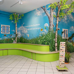 Wandmalerei - Ansicht Feld:  Schulen von Graffiti und Wandmalerei | Frameless-studio UG