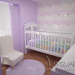 Diseño de Departamento San Borja: Dormitorios infantiles de estilo  por Vanguardist Design Studio