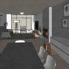 C&L - : scandinavische Eetkamer door MEL design_