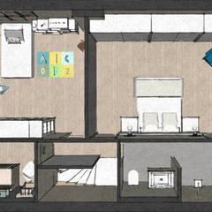 C&L - :  Slaapkamer door MEL design_
