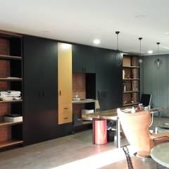 Ganitaconcept  – Orteks ofis : rustik tarz tarz Çalışma Odası
