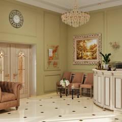 Офис в классическом стиле в Крыму: Офисные помещения в . Автор – Студия дизайна Interior Design IDEAS