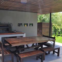 Jardins de inverno minimalistas por Estudio Fernández+Mego