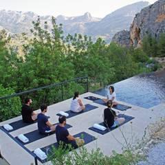 SARGRUP İNŞAAT VE ENERJİ LTD.ŞTİ. – VIVOOD Landscape Hotel:  tarz Teras