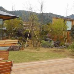山荘 天の里: 有限会社 福山造園が手掛けた庭です。