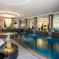 Restored Georgian splendour with modern indulgences:  Pool by Design by UBER