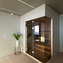 Luxury Apartment Combination:  Spa by Andrew Mikhael Architect,Minimalist