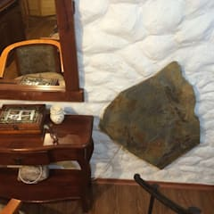 Calefacción casa particular en Copiapó: Dormitorios de estilo rústico por ALI-CURA
