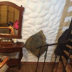 Calefacción casa particular en Copiapó Dormitorios rústicos de ALI-CURA Rústico