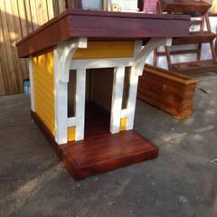 Jardines de estilo  por As3 Orman Ürünleri San Ve Tic Ltd Şti, Moderno Madera Acabado en madera