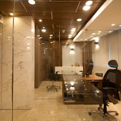 oficina J: Oficinas de estilo  por minima design & architecture studio