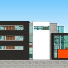 Box de Crossfit & Gym: Spa de estilo minimalista por MARATEA Estudio
