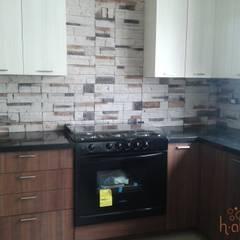 Кухни в . Автор – H-abitat Diseño & Interiores , Модерн Гранит