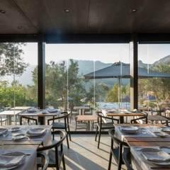 SARGRUP İNŞAAT VE ENERJİ LTD.ŞTİ. – VIVOOD Landscape Hotel:  tarz Duvarlar