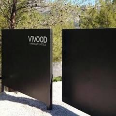 SARGRUP İNŞAAT VE ENERJİ LTD.ŞTİ. – VIVOOD Landscape Hotel: minimal tarz tarz Bahçe