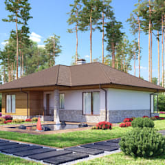 Лахти_167,5 кв.м.: Дома в . Автор – Vesco Construction