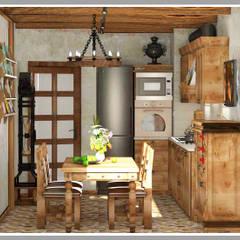 Кухня Вид 3: Кухни в . Автор – Рязанова Галина