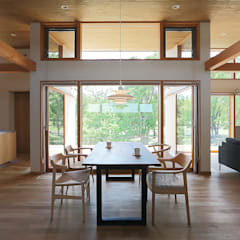 Dining room by ATELIER N