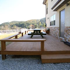 Terrace by HOUSE & BUILDER