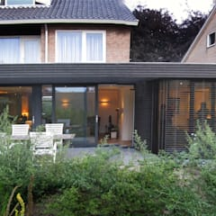 nieuwe gevel:  Huizen door Arend Groenewegen Architect BNA