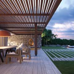 حديقة تنفيذ LUV-Architecture & Design,