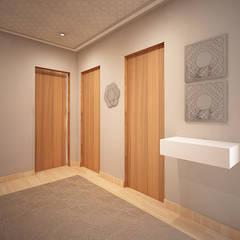 Коридор и прихожая в . Автор – GRAÇA Decoração de Interiores, Модерн