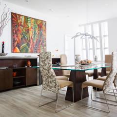 Comedor: Comedores de estilo  por Carughi Studio